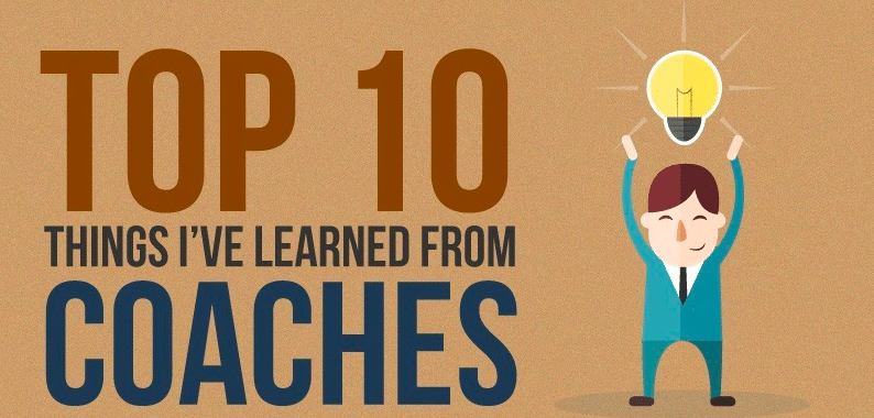 Top 10 lessons from Coaches