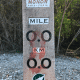 Walking Trail Mile Sign