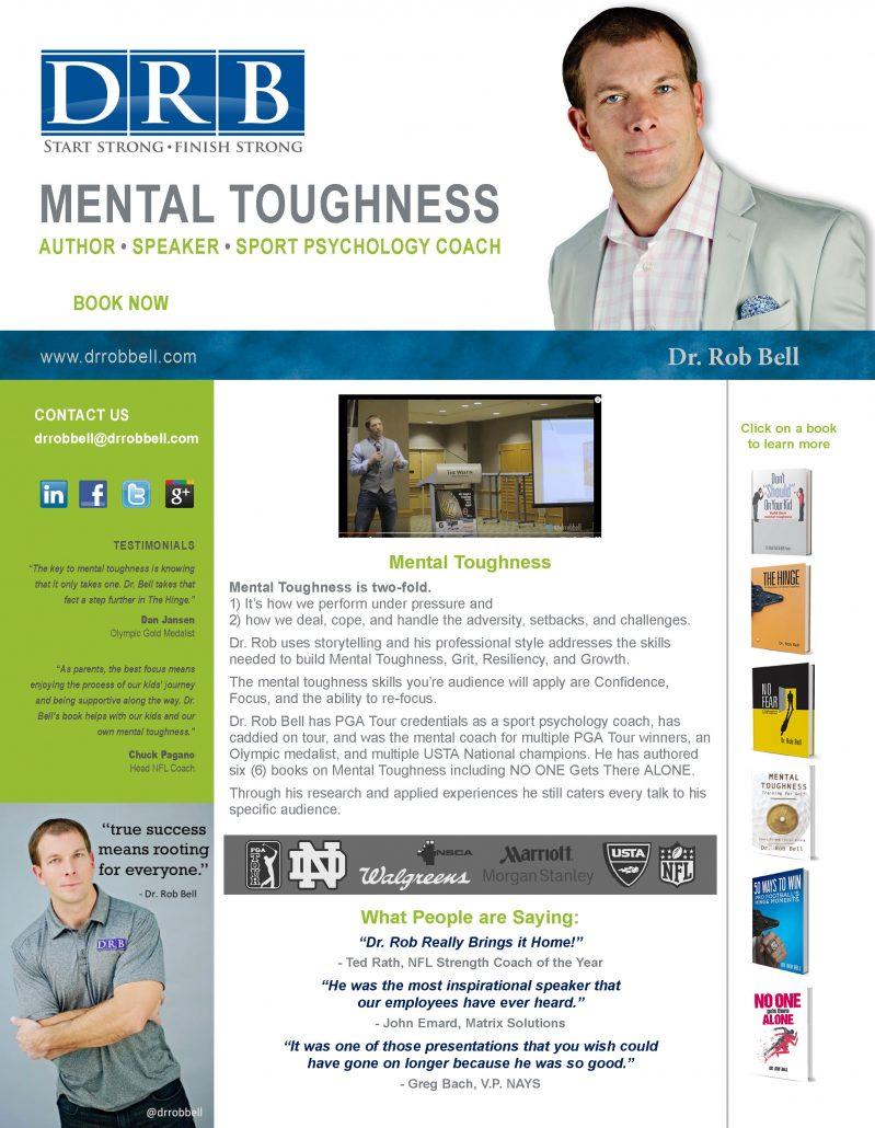 keynote speaker on mental toughness